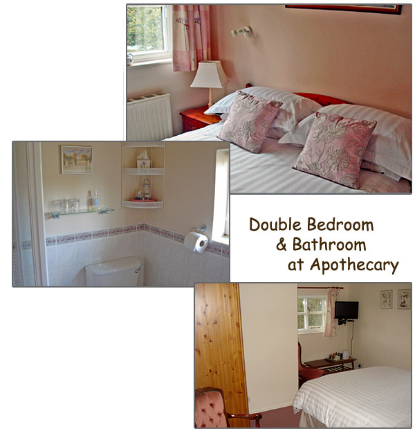 Double Bedroom Facilities at The Apothecary